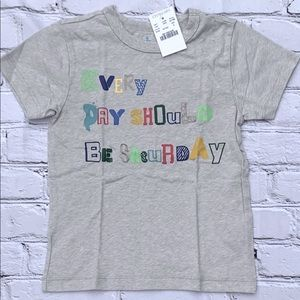 Every Day Should Be Saturday Crewcuts Size 3T Tee
